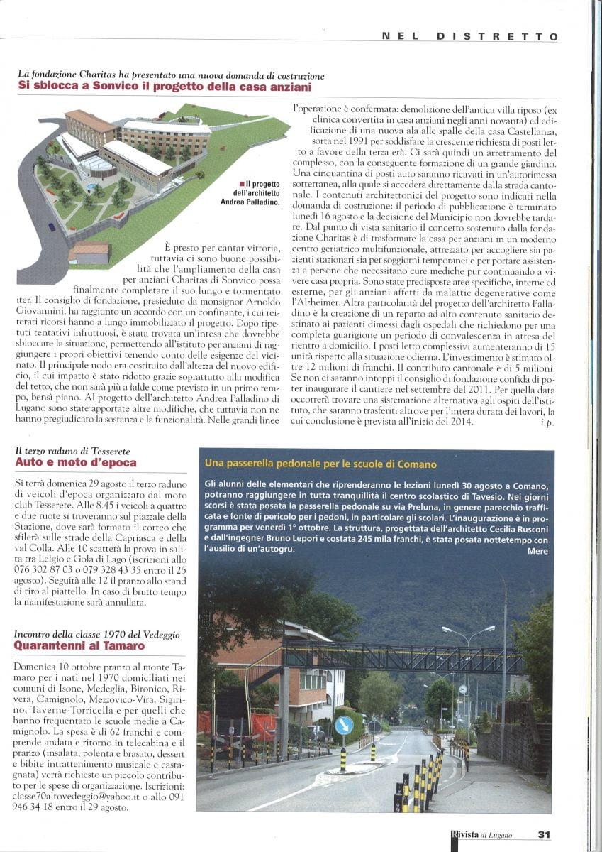 Rivista di Lugano del 27.08.2010
