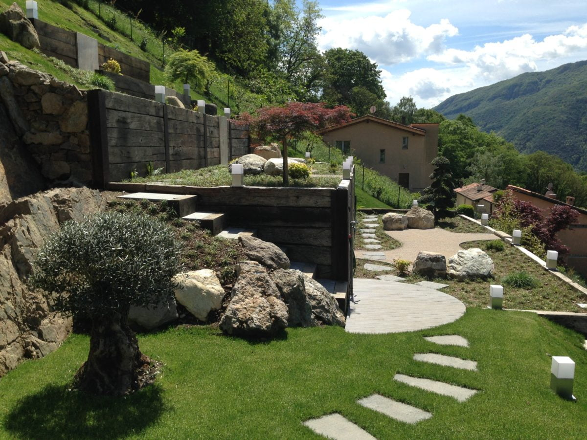 Giardino Zen Architettura : Giardino zen rovio palladino architetti