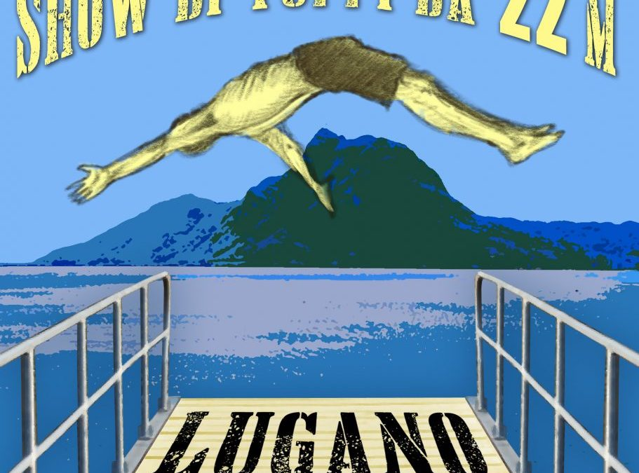 CARTELLONE LUGANO CLIFF DIVING 2018