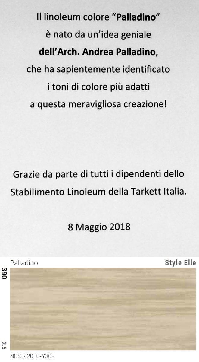 "Nome colore ""Palladino"" linoleum Tarkett 08.05.2018"